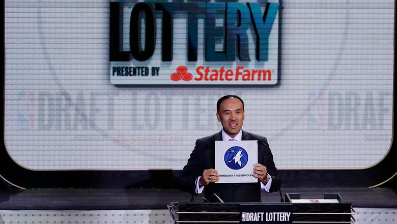 Wolves look to end draft lottery losing streak