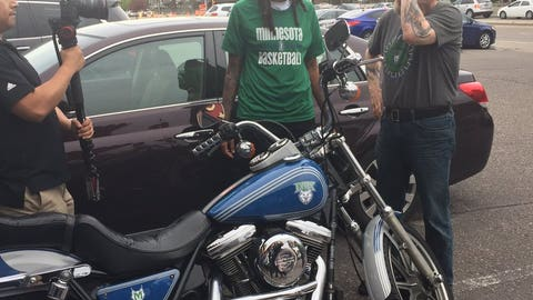 Seimone Augustus, Lynx guard/forward (via Mitchell Hansen)