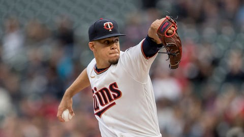 Jose Berrios, Twins pitcher (↑ UP)