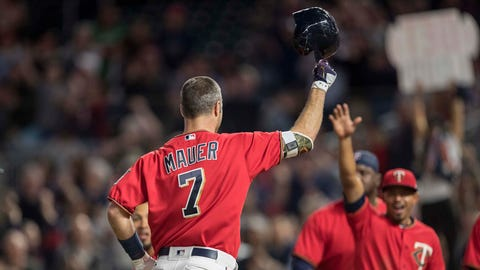 TOP MOMENT – Joe Mauer's walk-off home run (May 5)