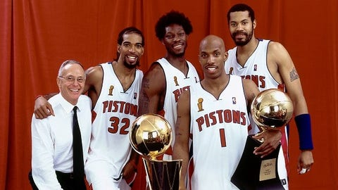 Detroit Pistons - 3 NBA Championships