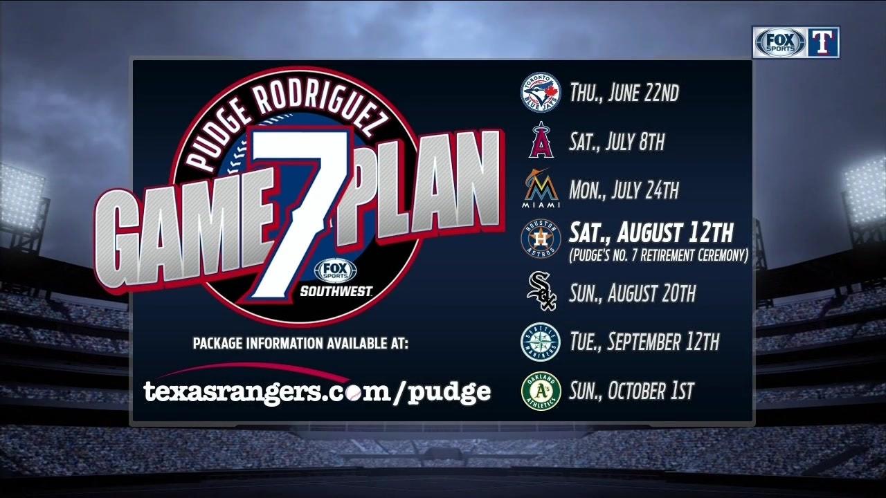 Pudge Rodriguez 7-Game Plan
