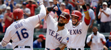 Rangers sweep Phillies for 9th straight win