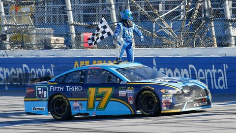 Stenhouse stands tall