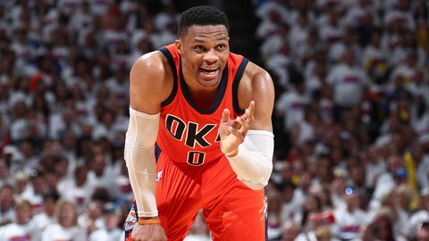 13. Russell Westbrook: $38.6 million