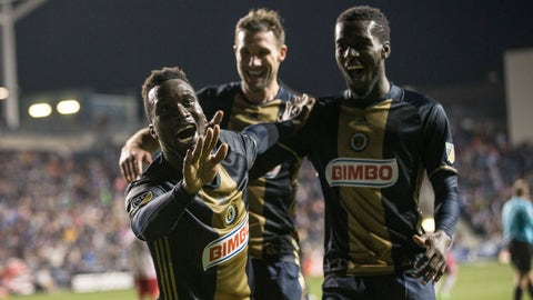 The Union finally win, thanks to Sapong