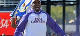 ECU coach visits mother of walk-on, surprises her with news her son is receiving scholarship
