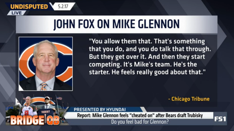 John Fox: Chicago is Glennon's team