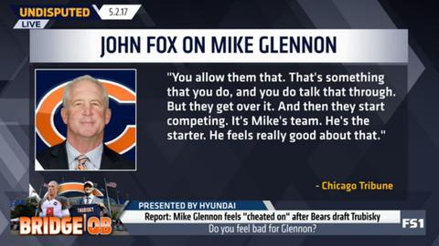 John Fox: Chicago is Glennon's team