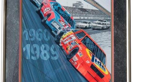 Lot 49,Charlotte Motor Speedway program cover, Coca-Cola 600