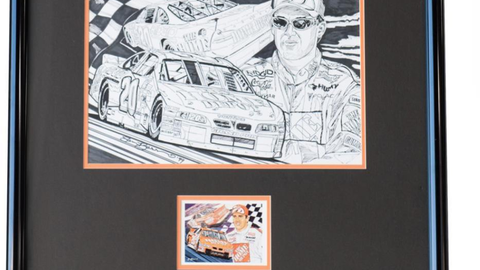 Lot 64, Composite Drawing and Final for Tony Stewart-NASCAR/Raybestos '99 Rookie