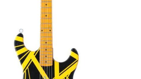Lot 83, Eddie Van Halen Fender Stratocaster Tribute Guitar