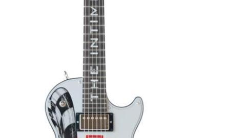 "Lot 90, Dale Earnhardt ""Intimidator"" Gibson Les Paul Guitar"