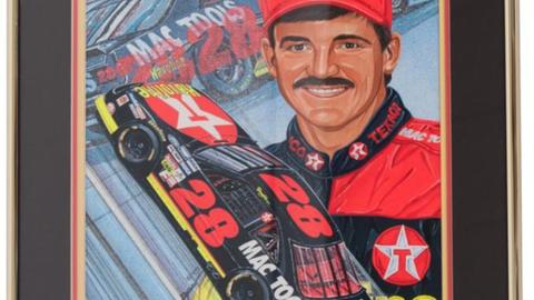 Lot 164, Davey Allison/Mac Tools Racing '93