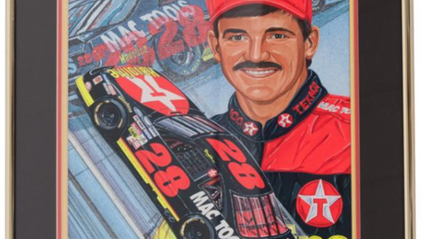 Lot 164, Davey Allison/Mac Tools Racing '93