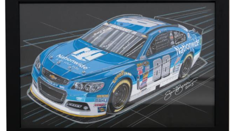 Lot 226, Nationwide Hendrick Chevy 88 SS Original