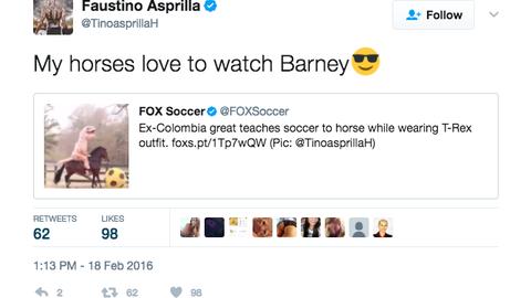 Faustino Asprilla