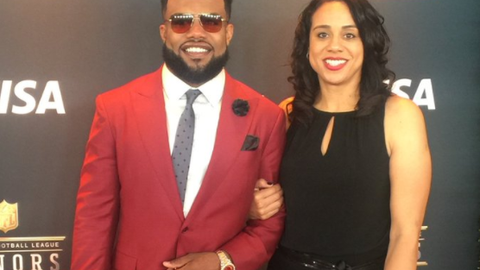 Dawn and Ezekiel Elliott