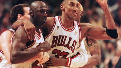 No one questioned that Jordan was the best in the world during his career