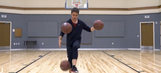 Watch this juggler showcase some of the best basketball trick shots ever