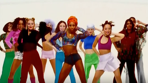 The Macarena was a pop culture phenomenon