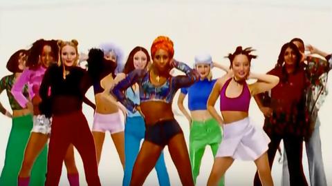The Macarena was a pop culture phenomenon