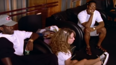 "Mariah Carey and Boyz II Men's ""One Sweet Day"" set a Billboard record"
