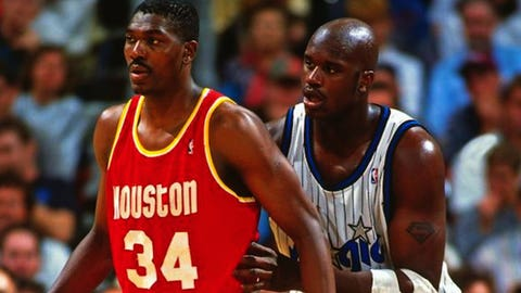 1995: Houston Rockets sweep the Orlando Magic