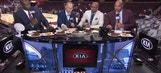 Watch: Charles Barkley tells Shaq that he rode Kobe Bryant's coattails