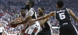 Spurs drop Game 4 in Houston, series tied 2-2