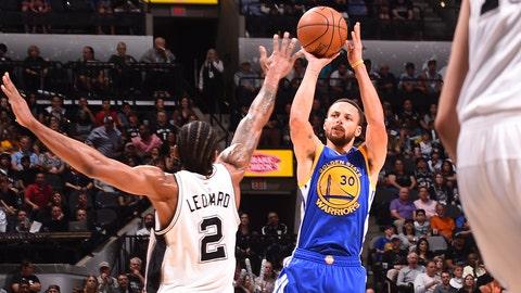 Second team: G Stephen Curry, Warriors