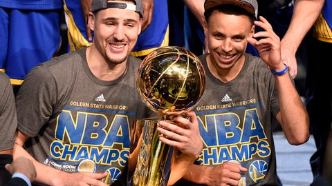 Golden State Warriors - 4 NBA Championships
