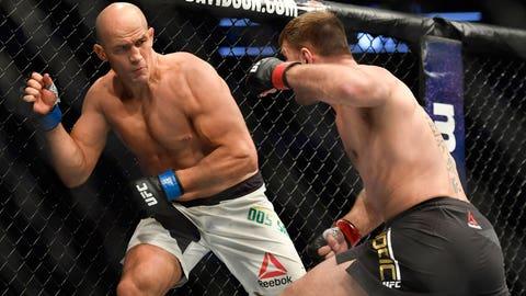 Stipe Miocic defeats Junior dos Santos via first-round knockout