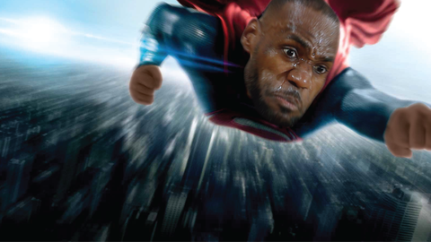 LeBron James: Superman