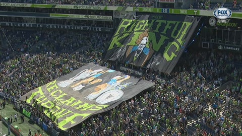 Seattle's tifo game is back