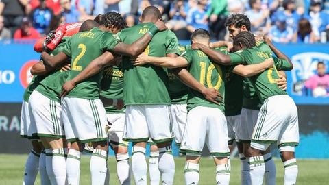 The Timbers have officially hit a rough patch