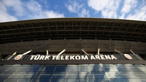 ISTANBUL, TURKEY - FEBRUARY 20:  A general view of the Turk Telecom Arena on February 20, 2013 in Istanbul, Turkey.  (Photo by Matthew Lewis/Getty Images)