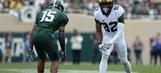 Michigan State cornerback Tyson Smith says he suffered stroke last year