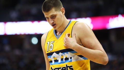 13. Denver Nuggets (40-42): 0.6 percent