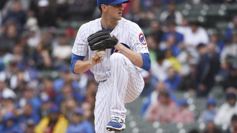 Chicago Cubs (13-11)