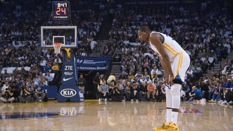 Kevin Durant is protecting himself
