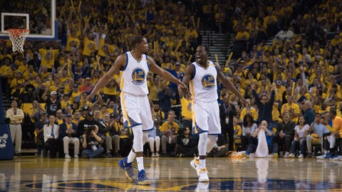 The Warriors are stellar on both ends of the floor