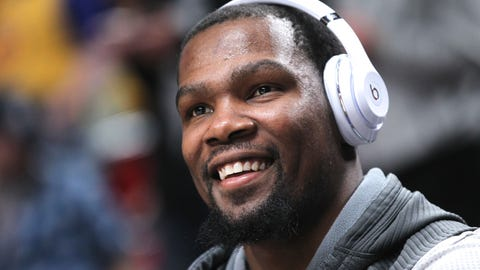 Kevin Durant nailed it - pro combines are worthless