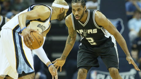 Leonard is already being compared to the game's all-time greats