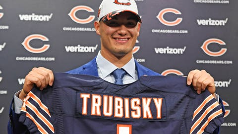 Mitchell Trubisky, Bears (first round, No. 2 overall)