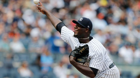 New York Yankees (15-8)