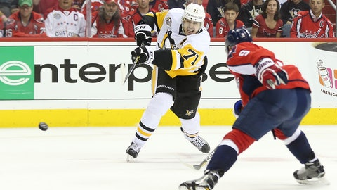Monster contributions from Evgeni Malkin
