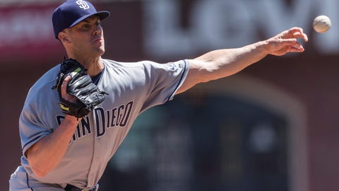 San Diego Padres (11-16)