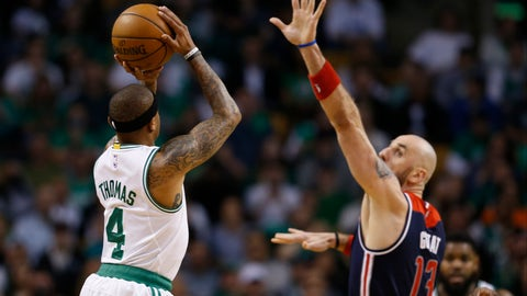 """Isaiah Thomas: """"She's watching over me."""""""