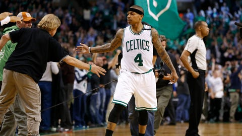 These playoffs are starting to belong to Isaiah Thomas
